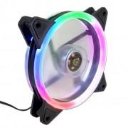 COOLER FAN 12CM LED RGB RAINBOW EW0509R G-FIRE