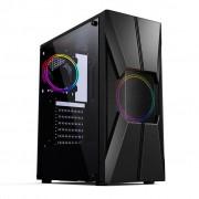 GABINETE GAMER S/FONTE USB 3.0 RGB CGG17B PIXXO