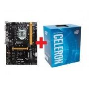 KIT - PLACA MÃE 1151/DDR3 BIOSTAR + INTEL CELERON DUAL 2.9GHZ BOX