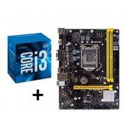 KIT - PLACA MÃE 1151/DDR3 BIOSTAR + INTEL CORE I3 3.7GHZ