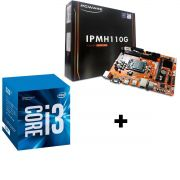 KIT - PLACA MÃE 1151/DDR4 PCWARE + INTEL CORE I3 3.9GHZ 3MB BOX