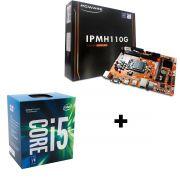 KIT - PLACA MÃE 1151/DDR4 PCWARE + INTEL CORE I5-7500 3.4GHZ 6MB BOX