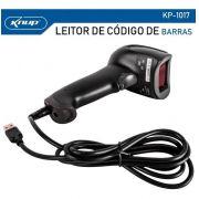 LEITOR DE COD DE BARRAS LASER USB KP-1017 KNUP