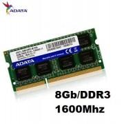 MEMORIA 8GB/DDR3 1600MHZ NOTEBOOK CL11 ADATA