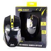 MOUSE USB GAMER KP-V22 6BT 2400DPI MO-18 KNUP