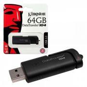 PEN DRIVE 64GB USB 2.0 DT104 KINGSTON