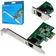 PLACA DE REDE 10/100/1000 GIGABIT PCI-EXPRESS 1X GA150 MULTILASER