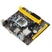 PLACA MAE 1151 DDR3 H110MHV3 V/S/R/HDMI BIOSTAR