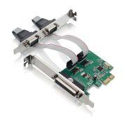 PLACA PCI-EX 1X MULTISERIAL 2SERIAL+1P GA128 MULT