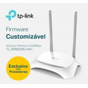 ROTEADOR WI-FI 300MBPS 2ANT ISP TL-WR840N TP-LINK