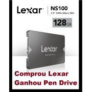 SSD 128GB SATA 3 6GB/s NS100 520Mb/s LEXAR