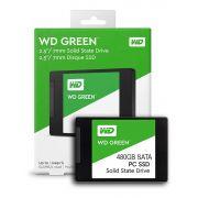 SSD 480GB SATA 3 6GB/s WDS480 545MB/s GREEN WD