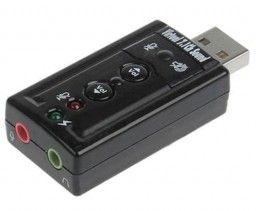 ADAPTADOR USB SOUND 7.1 VOLUME AD-02 ML  - Express Informática