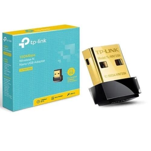 ADAPTADOR USB WI-FI 150MBPS NANO TL-WN725N TP-LINK