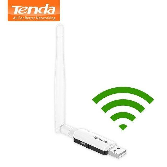 ADAPTADOR USB WI-FI 300MBPS COM ANTENA 3DBI U1 TENDA