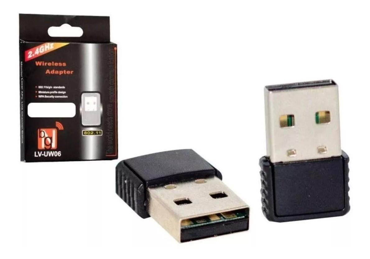 ADAPTADOR USB WI-FI 150MBPS MICRO AD-06 ROHS
