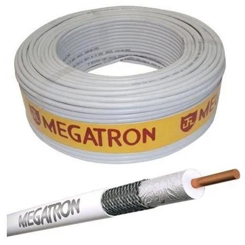 CABO COAXIAL P/ANTENA 47% 100 METROS BRANCO MEGATRON