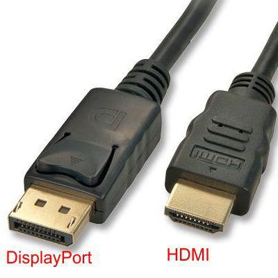 CABO DISPLAYPORT PARA HDMI 1,8METROS CB-72 TSA