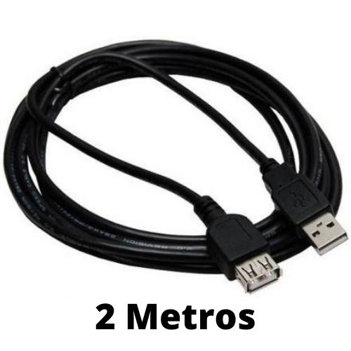 CABO EXTENSOR USB 2.0 MACHO-FEMEA 2 METROS CB-06 IT-BLUE