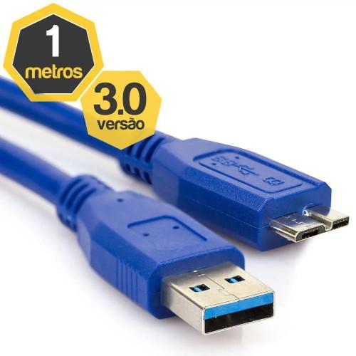 CABO USB 3.0 A X SS PARA HD EXTERNO CASE 1 METRO TSA