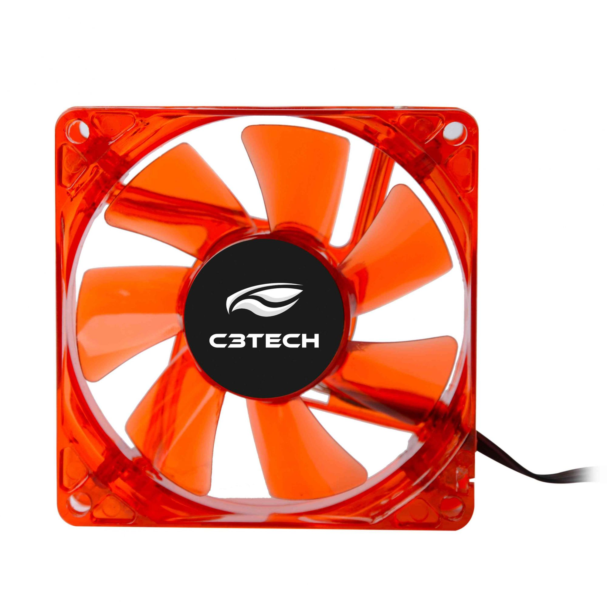 COOLER FAN 8cm F7-L50 STORM C/LED C3 TECH  - Express Informática