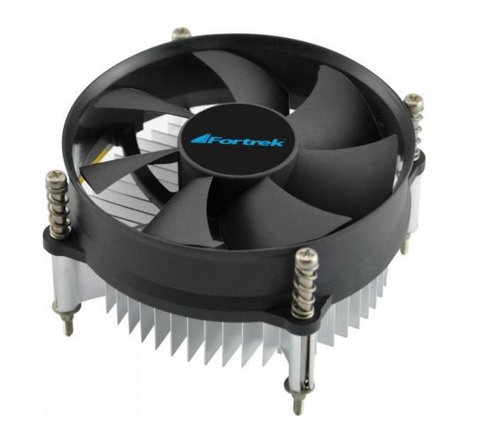 COOLER P/INTEL 1151/1150/1155/1156 CLR101 FORTREK  - Express Informática