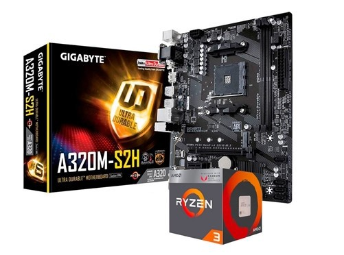 CPU - GAMER AMD RYZEN 3 3.6GHZ /SSD 480GB /MEM 8GB /GTX-1050Ti WINDOWS  - Express Informática