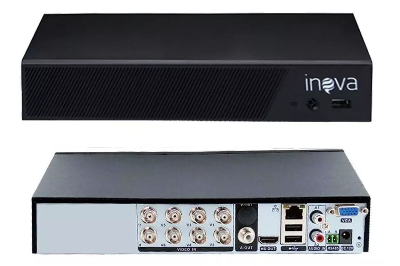 DVR 08 CANAIS AHD/TVI/CVI/IP 1080N DVR-5709 INOVA  - Express Informática