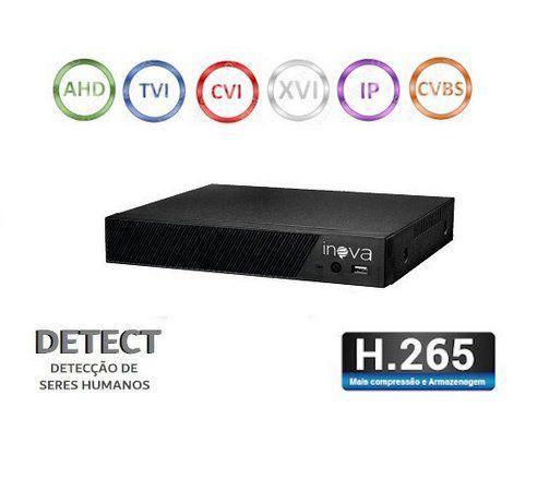 DVR 16 CANAIS AHD/TVI/CVI/IP 1080N DVR-5710 INOVA  - Express Informática