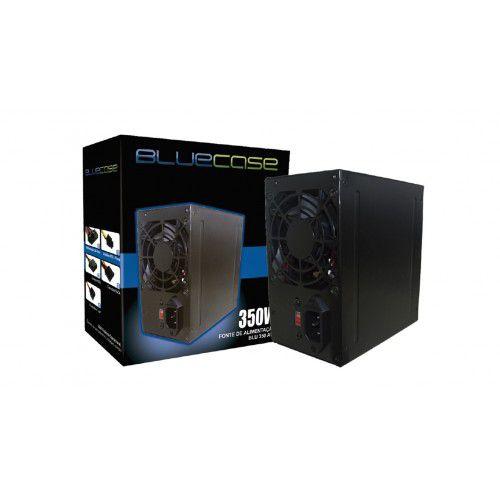 FONTE ATX 350W REAL BIVOLT C/CABO 350E BLUECASE