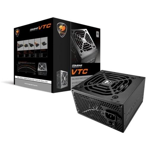 FONTE ATX 500W REAL BIVOLT AUTOMÁTICA C/PFC ATIVO VTC COUGAR