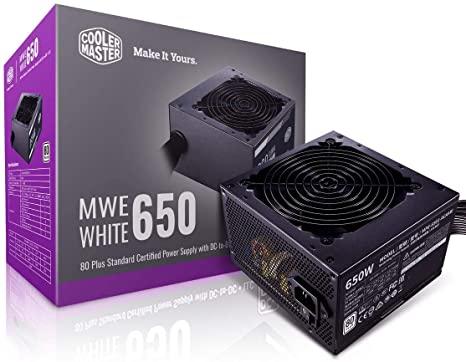 FONTE ATX 650W 80PLUS BIVOLT MWE-650 COOLER MASTER  - Express Informática