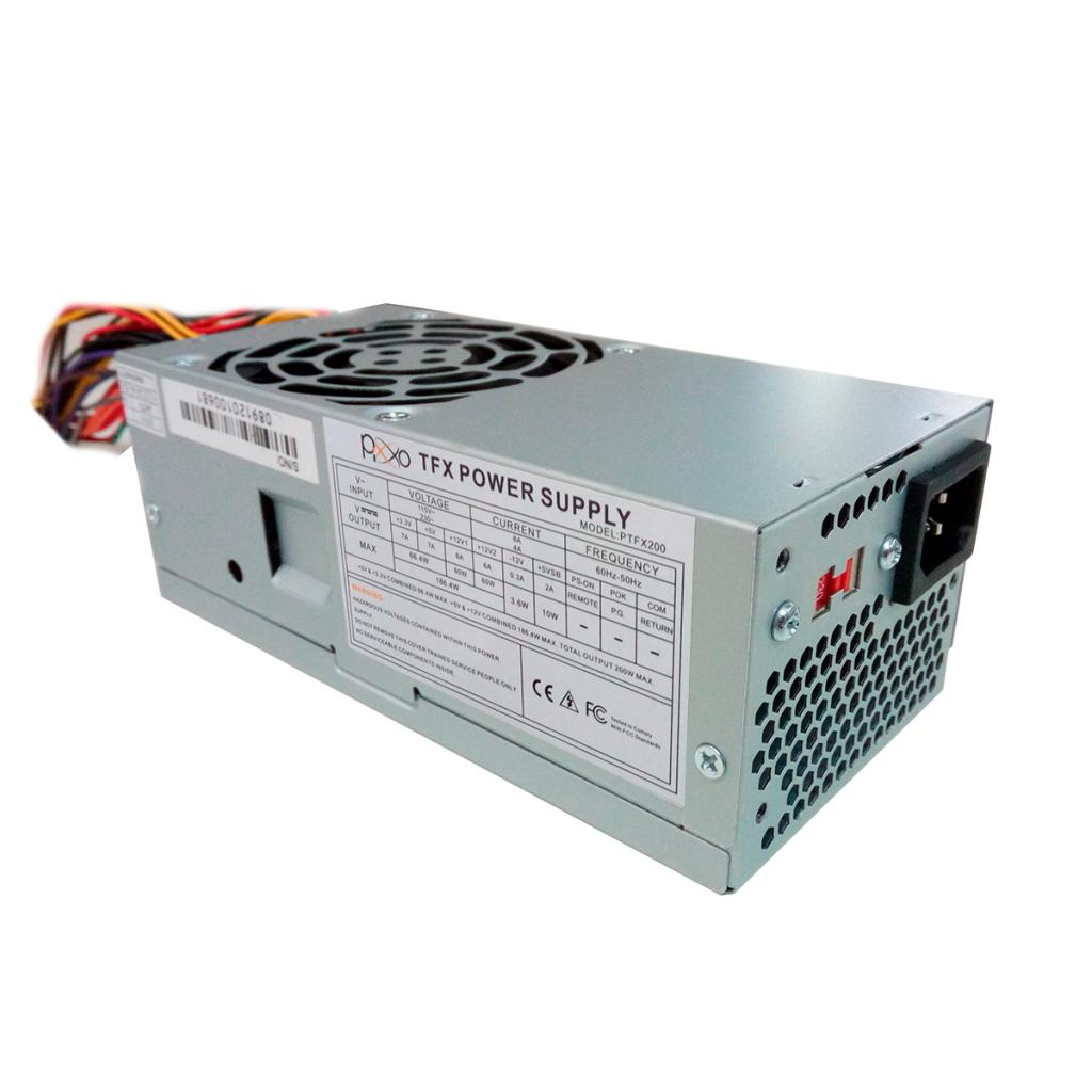 FONTE FTX 200W REAL 24 PINOS C/CABO TFX200 PIXXO
