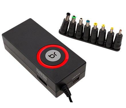 FONTE UNIVERSAL NOTEBOOKS 12V-24V 90W 8 PINOS C/USB 0167 BRIGHT