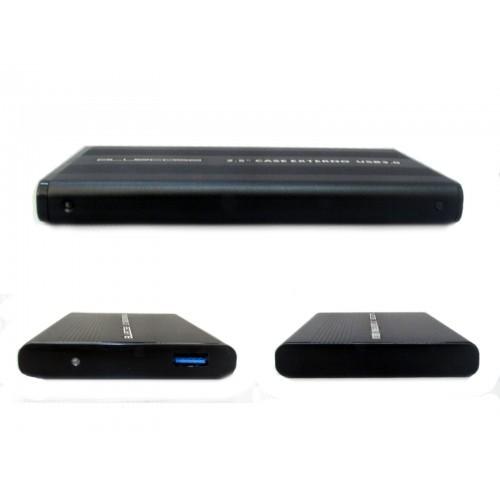 "GAVETA 2,5"" HDD NOTEBOOK SATA USB 3.0 PRETA BLUECASE  - Express Informática"