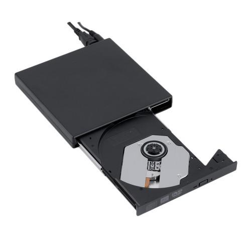 GRAVADOR CD/DVD-RW EXTERNO 8X USB 2.0 BLUECASE  - Express Informática