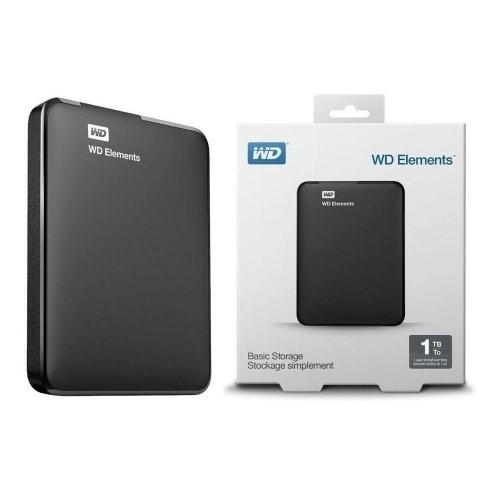 HD 1TB EXTERNO USB 3.0 BASIC STORAGE WD ELEMENTS
