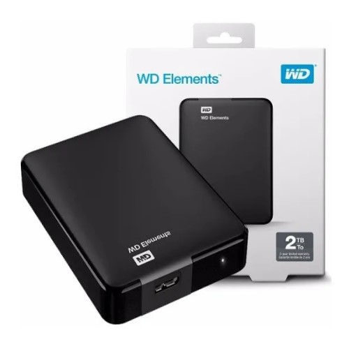 HD 2TB EXTERNO USB 3.0 BASIC WD ELEMENTS