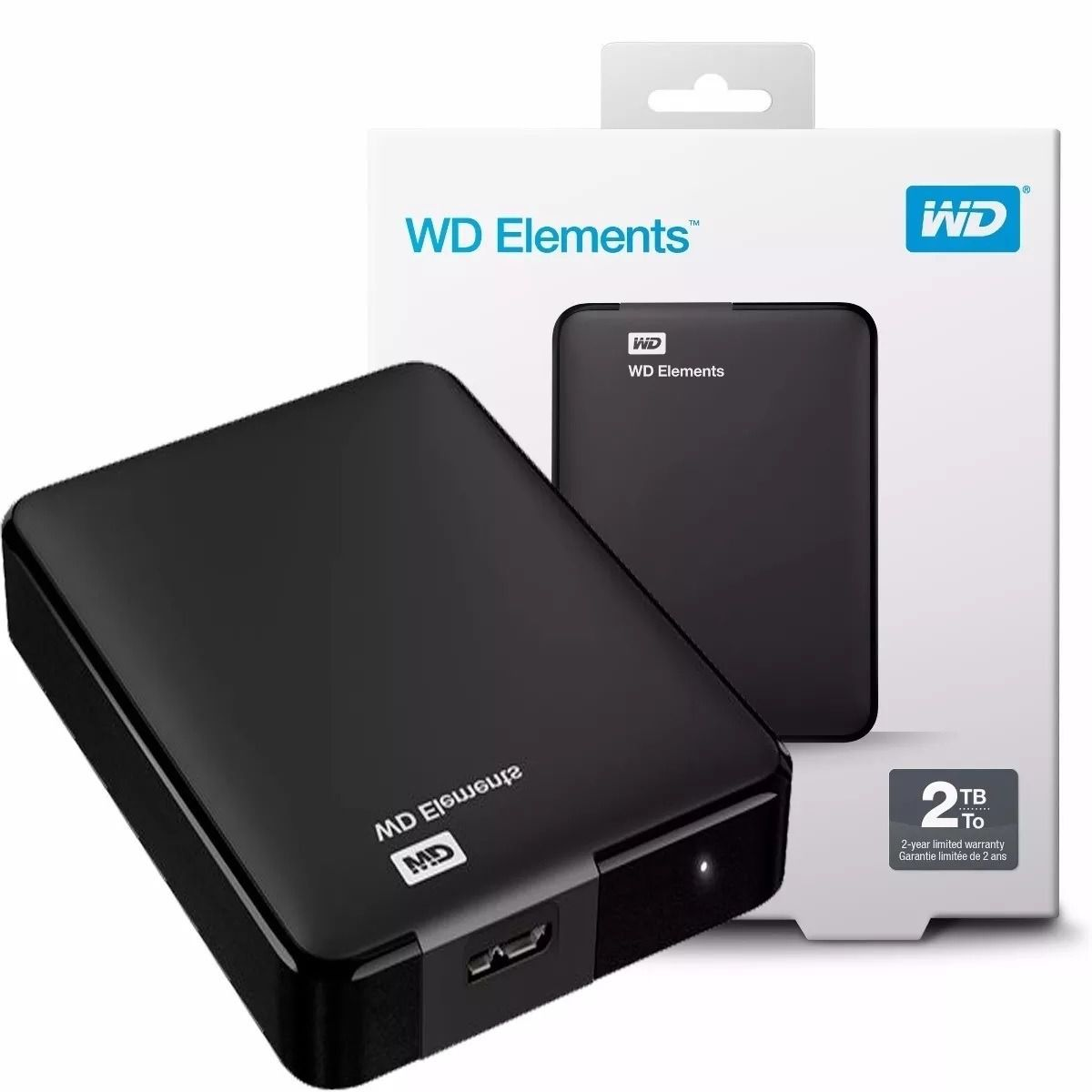 HD 2TB EXTERNO USB 3.0 WD ELEMENTS  - Express Informática
