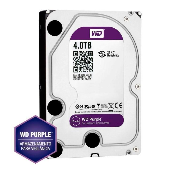 HD 4TB SATA 3 6GB/s 64MB CACHE PURPLE WD40PURX WESTERN DIGITAL