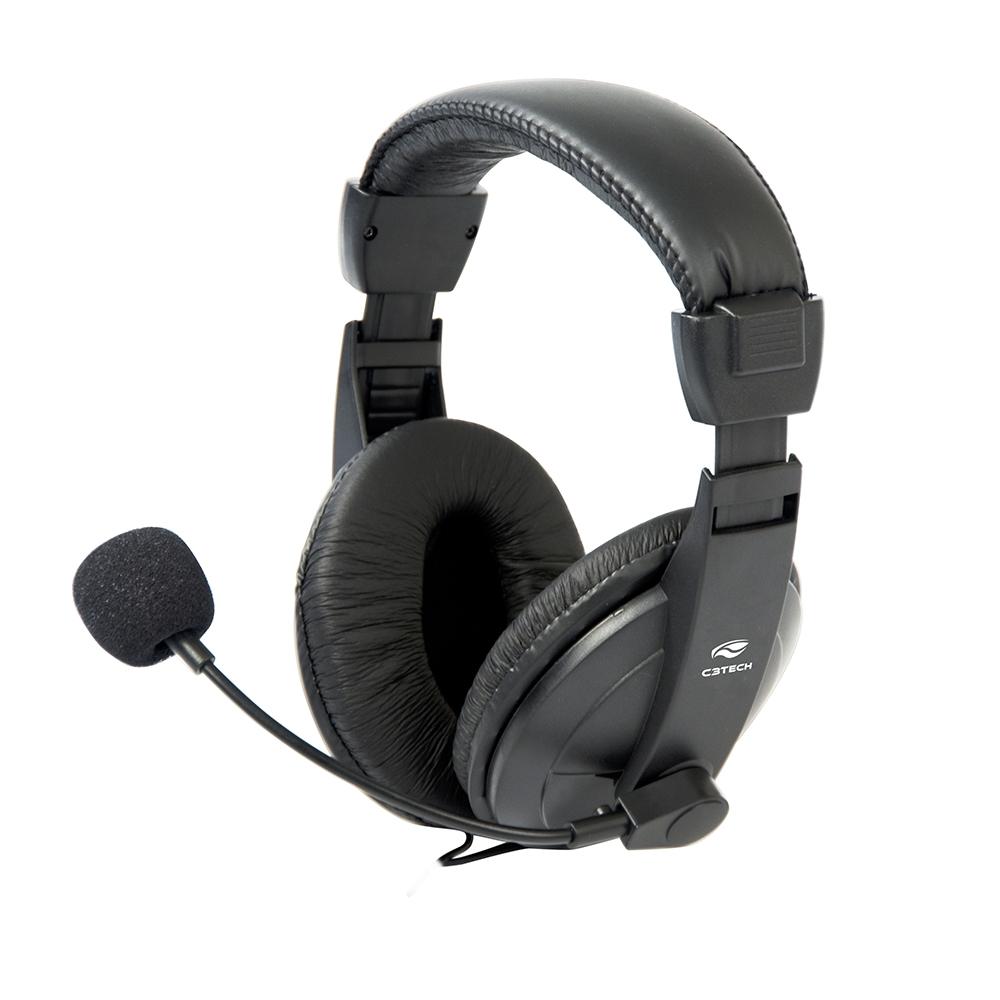 HEADSET STEREO C/MICROFONE VOICER COMFORT PH-60 C3 TECH