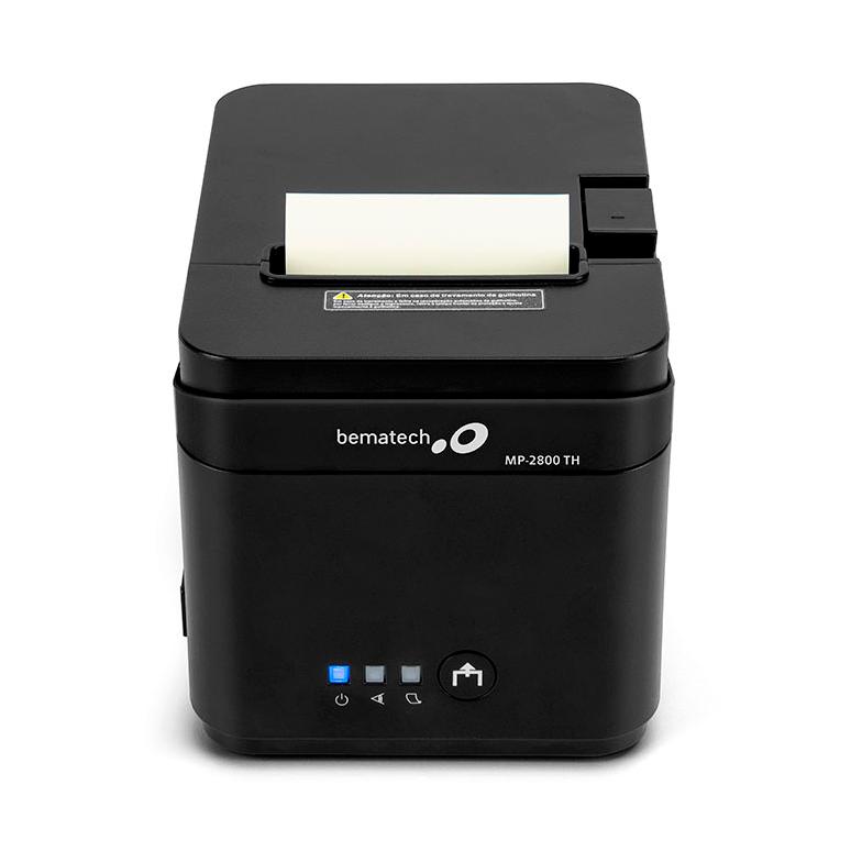 IMPRESSORA TÉRMICA MP-2800 USB/SERIAL/LAN BEMATECH  - Express Informática