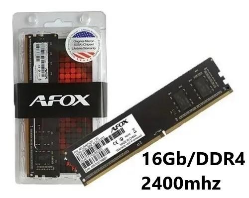 MEMORIA 16GB/DDR4 2400MHZ CL17 AFOX