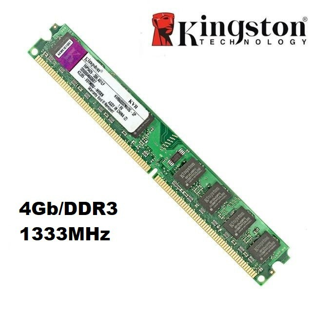 MEMORIA 4GB/DDR3 1333MHZ KINGSTON  - Express Informática
