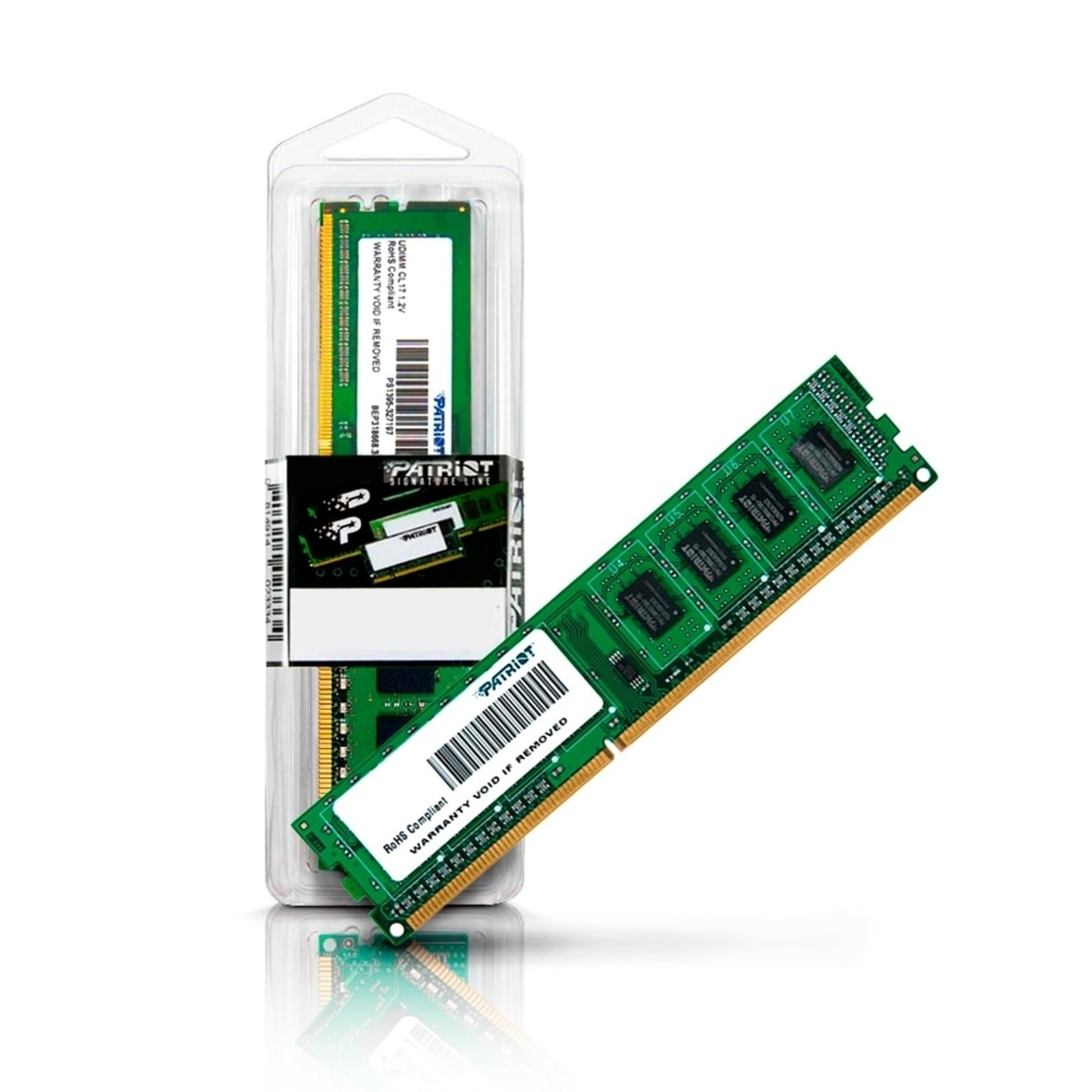 MEMORIA 4GB/DDR3 1600MHZ CL11 PATRIOT  - Express Informática