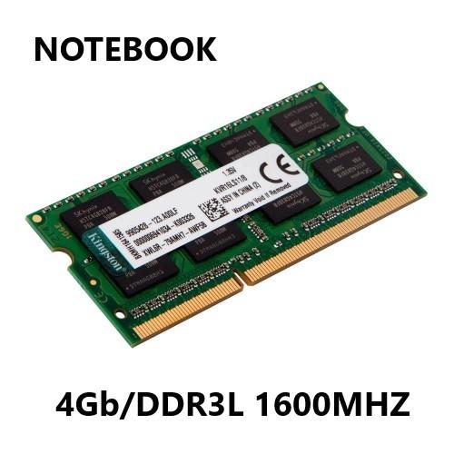 MEMORIA 4GB/DDR3L 1600MHZ CL11 NOTEBOOK KINGSTON