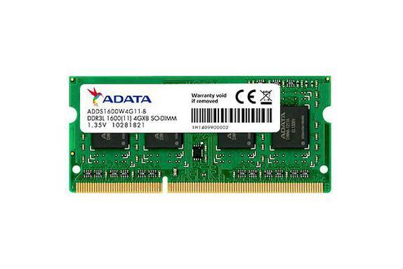 MEMÓRIA 4GB/DDR3L 1600MHZ NOTEBOOK ADATA  - Express Informática