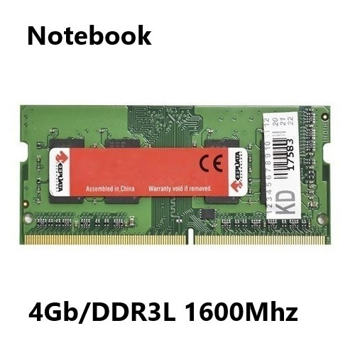 MEMORIA 4GB/DDR3L 1600MHZ NOTEBOOK CL11 KEEPDATA