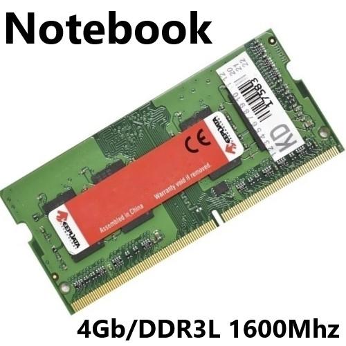 MEMORIA 4GB/DDR3L 1600MHZ NOTEBOOK CL11 PC3L-12800 KEEPDATA