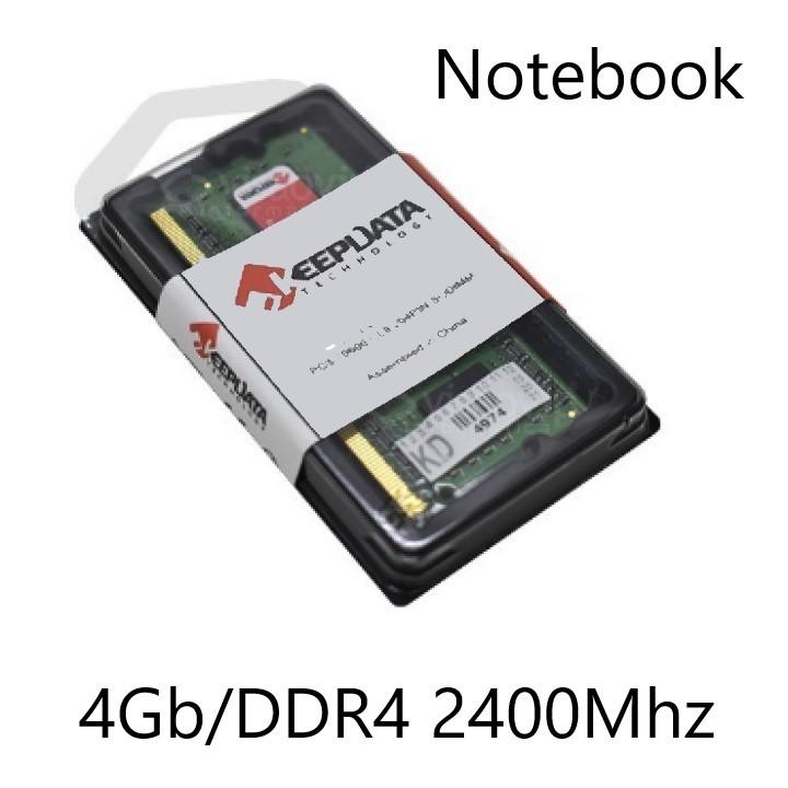 MEMORIA 4GB/DDR4 2400MHZ NOTEBOOK CL17 KEEPDATA  - Express Informática
